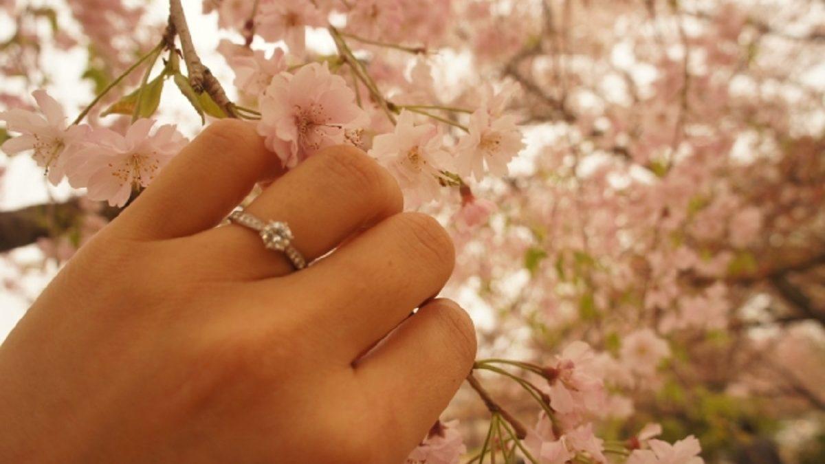 永遠の絆を意味する、4月の輝きダイヤモンド