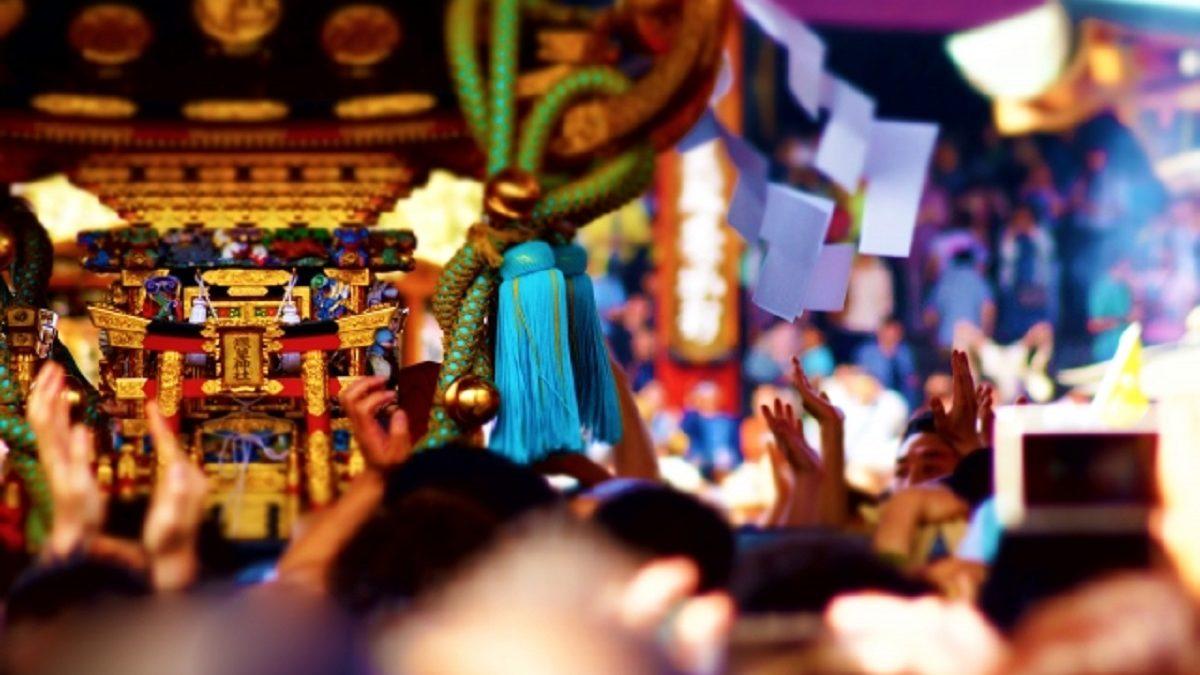 都内最大級の御祭! 三社祭の舞台は浅草神社