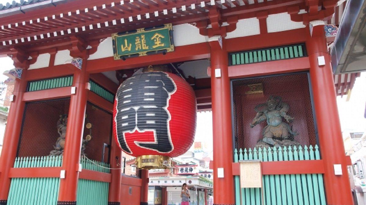 都内最大級のお祭り三社祭の舞台! 金龍山浅草寺
