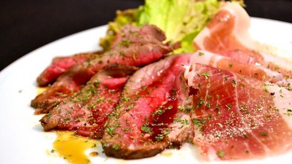 アストロ開運イタリアン 獅子座にぴったり!「牛肉のタリアータ」