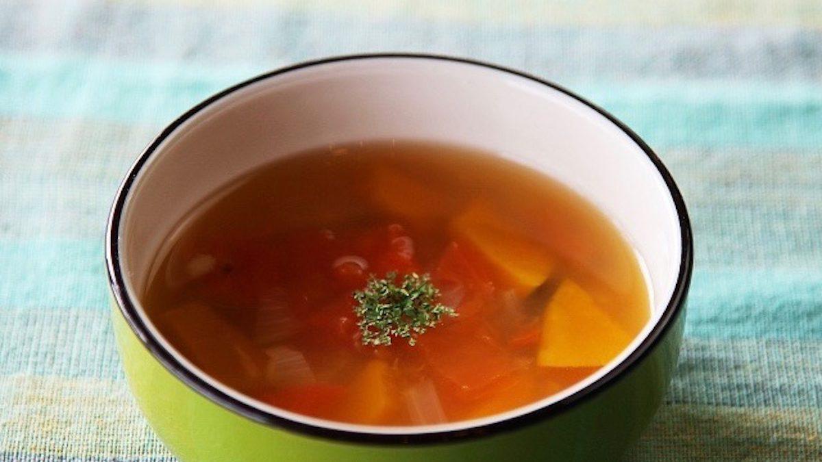 【ワンネス・スピリチュアルフード】毎日ベジタリアンスープを! キヌアと海藻のハーブコンソメ
