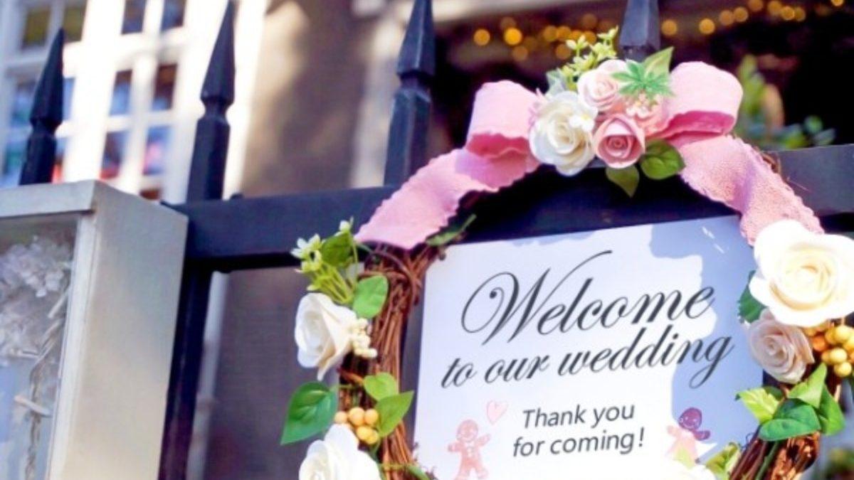 結婚式を華やかにしたいなら要チェック! 会場の装花について