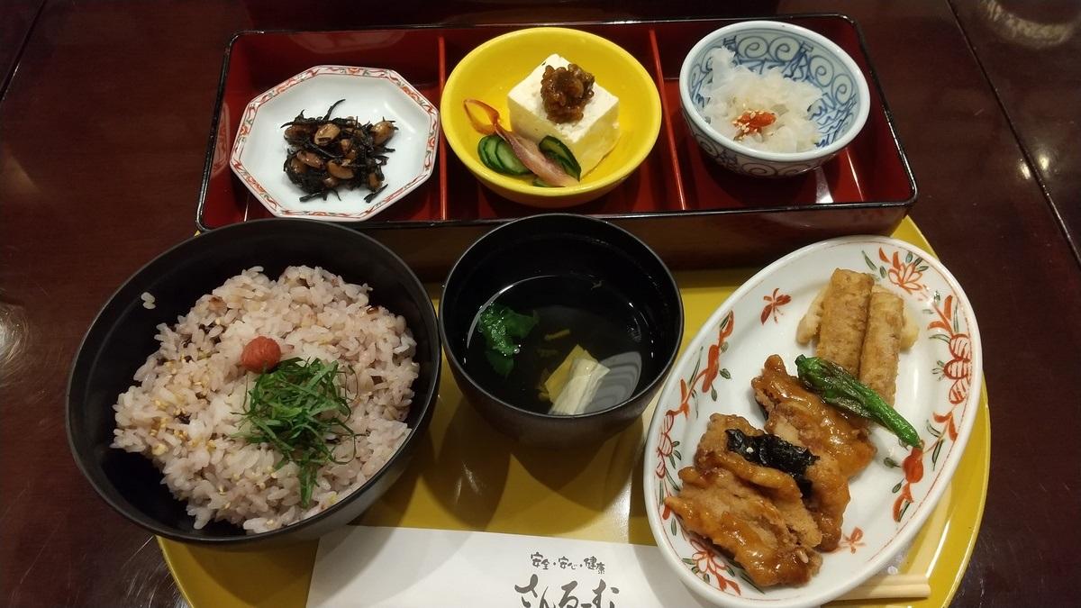さんるーむ、秋のおすすめ「精進吹き寄せ丼」で和食ベジを堪能